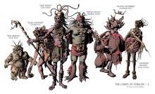 Modern Representation of the Lords of Xibalba / Representación moderna de los señores de Xibalba