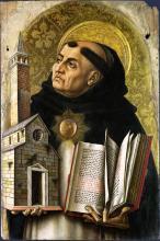 Saint Thomas Aquinas by Carlo Crivelli / Wikimedia Commons